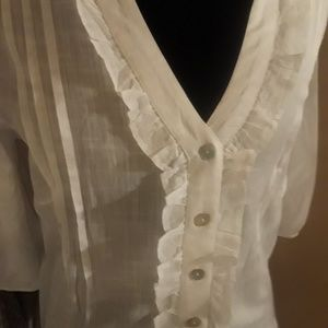 Magnolia Tops - white tunic blouse